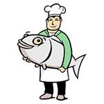 Упаковка для морских продуктов и салатов, рыбной продукции